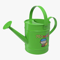 Kids Watering Can Green