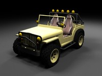 willys jeep 3d max