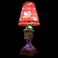 chinese red lamp 3d model