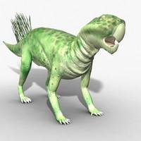 Rigged Psittacosaurus