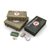 aid kits 3d lwo