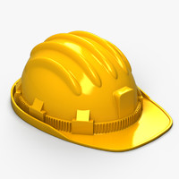 hat safety safe 3d max