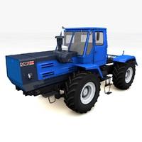 3d model tractor t-150