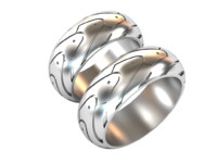 3d wedding ring model