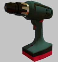 drill battery 3d 3ds