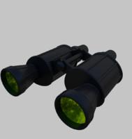 binoculars noculars 3d 3ds
