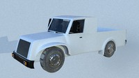 3d model truck toy suv