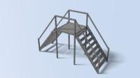 3dsmax ladder