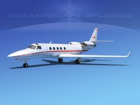 3d model astra jet iai