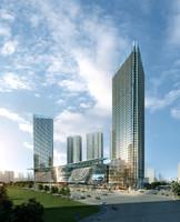 3d skyscraper business center 078