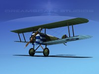 dxf sopwith camel fighter