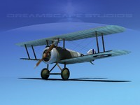 dwg sopwith camel fighter