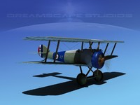 3ds sopwith camel fighter