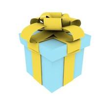 present gift 3d c4d