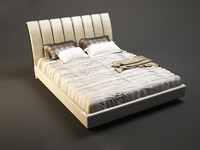 3d photorealistic prestige classic bed model
