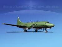 lwo propellers convair military transport
