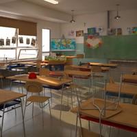 max classroom scene