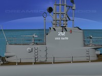 subs submarines 3d model