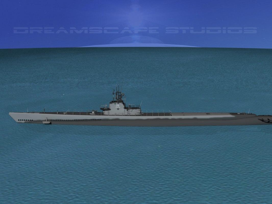 Gato Class Sub SS215  USS Growler 0070.jpg