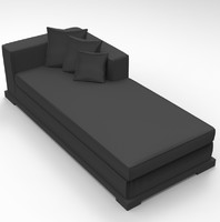 3d sofa bed model