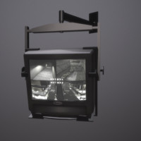 3d surveillance monitor model