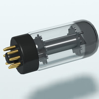 vacuum tube 3d model