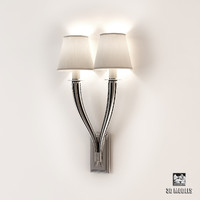 wall lamp mayflower double 3d model