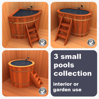 3ds max 3 small pools