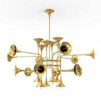 3dsmax botti suspension lamp