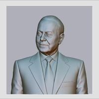 3d obj heydar aliyev cnc reliefs