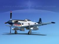 3d mustang cockpit p-51d