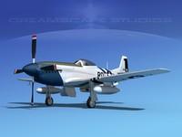 3ds max mustang cockpit p-51d