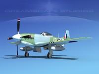 lightwave mustang cockpit p-51d