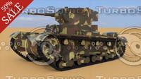 max wwii t-26 1933 soviet tank