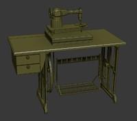 sewing machine 3d x