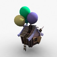 fairy charmed hut 3d model
