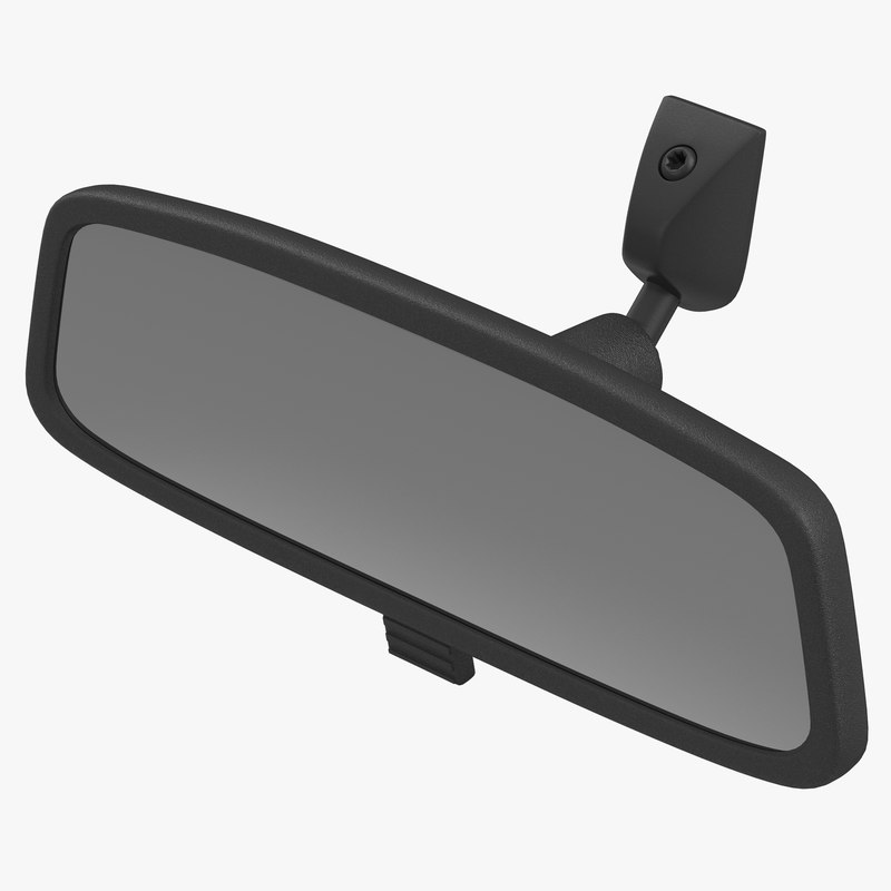 Car Rearview Mirror 3d model 01.jpg