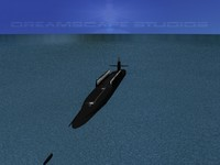 ssgn ohio class submarines 3d model
