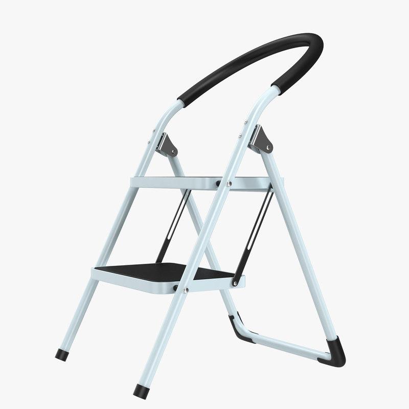 3d model of Step Ladder 01.jpg