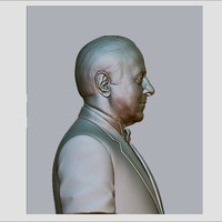 3d model heydar aliyev cnc reliefs