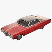 3d model pontiac bonneville