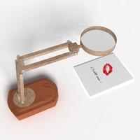 magnifier lamp x