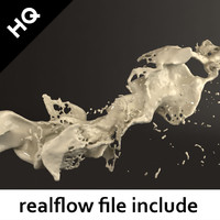 splash realflow flow max