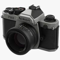 35 mm film camera 3d model