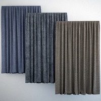 curtains modern 3d max