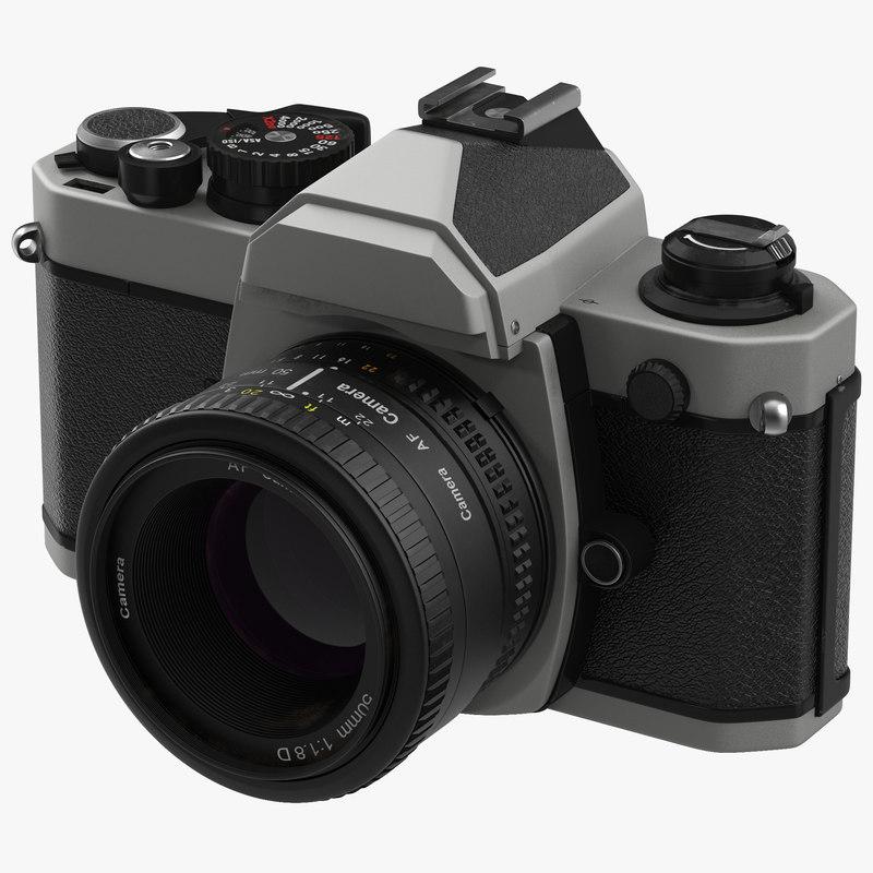 3d model of 35 mm Film Camera Generic 01.jpg