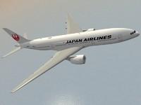 B 777-200 ER Japan Airlines
