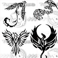 Four Phoenix Tattoos II