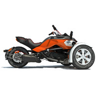 3d can-am spyder f3 motorcycle