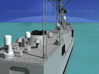 perry class frigates uss 3ds